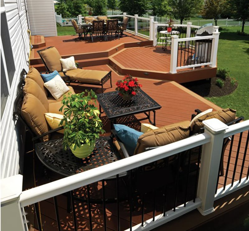 Custom Wood & Composite Decking in MN & WI by Lindus