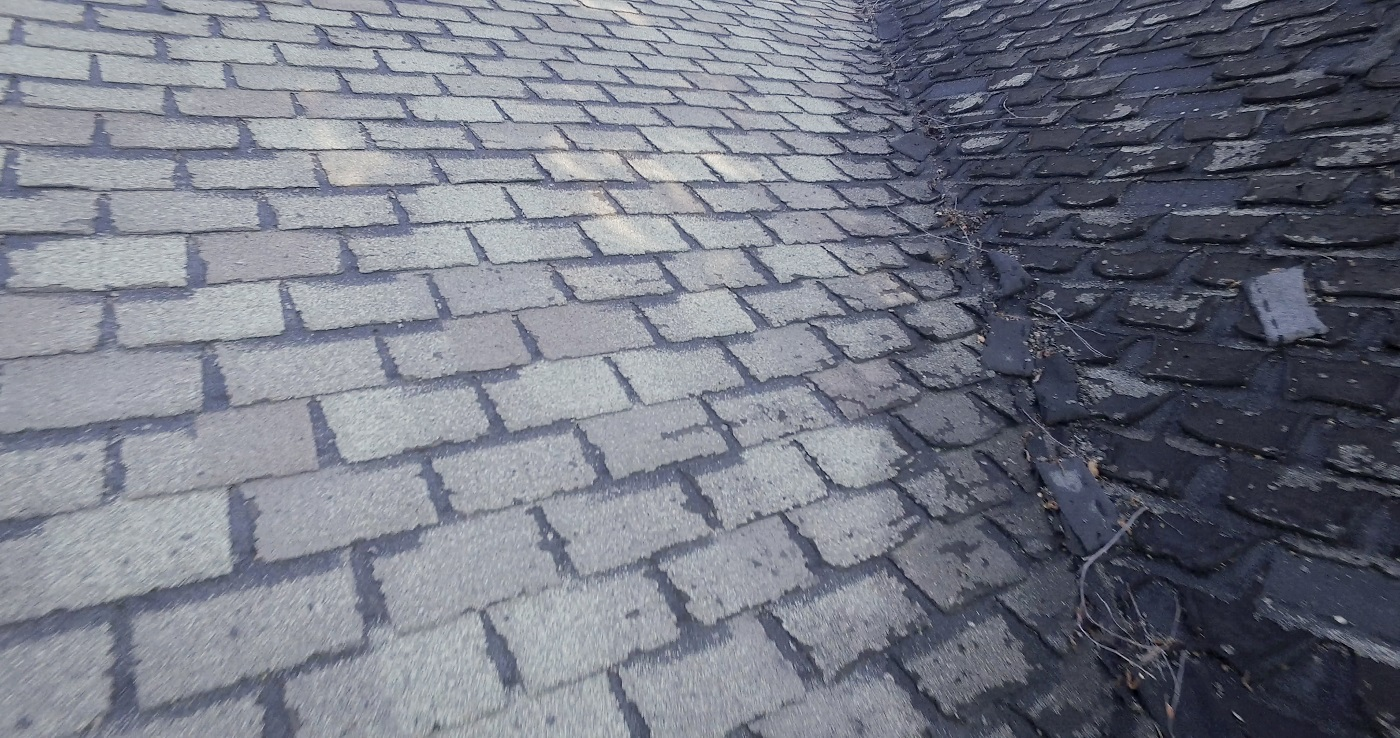 Your Roof Hail Damage Vs Old Shingles Lindus Construction