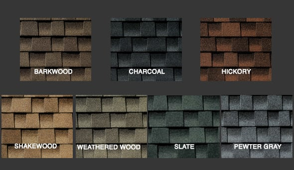Armor Shield Shingle Colors