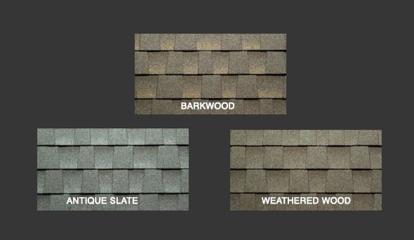 Cool Series Shingle Colors