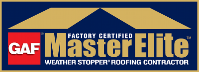 Master Elite Gold Certified Roofer