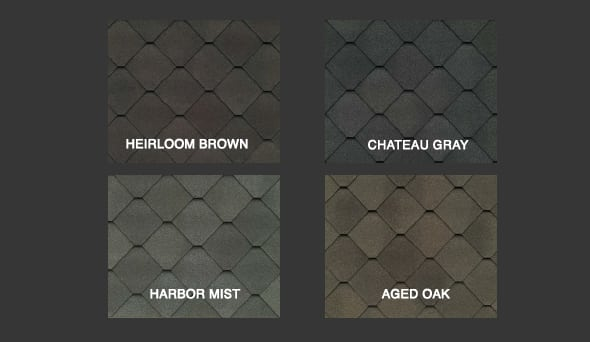 Sienna Shingle Colors