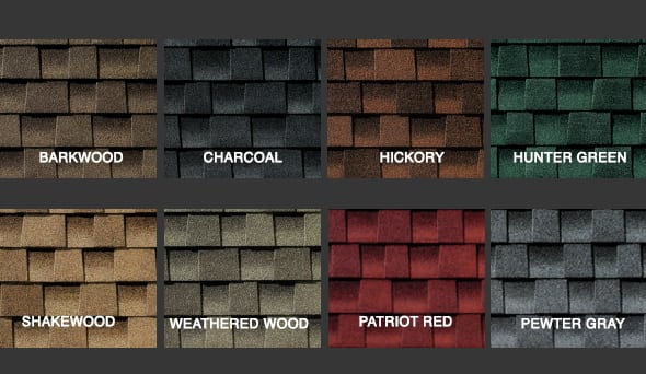 Ultra HD Shingle Colors