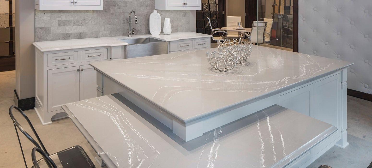 Kitchen Countertops  Cambria natural quartz