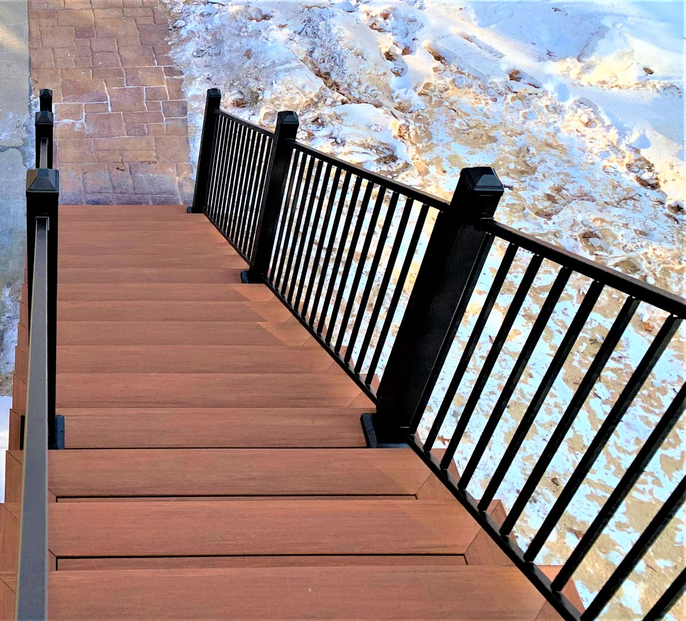 winter deck
