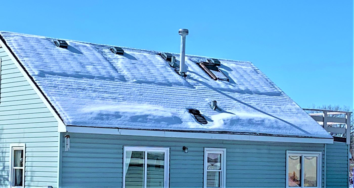 heat loss on a roof