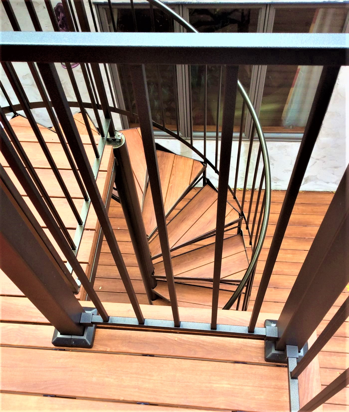 Fortress Steel Railing Staircase