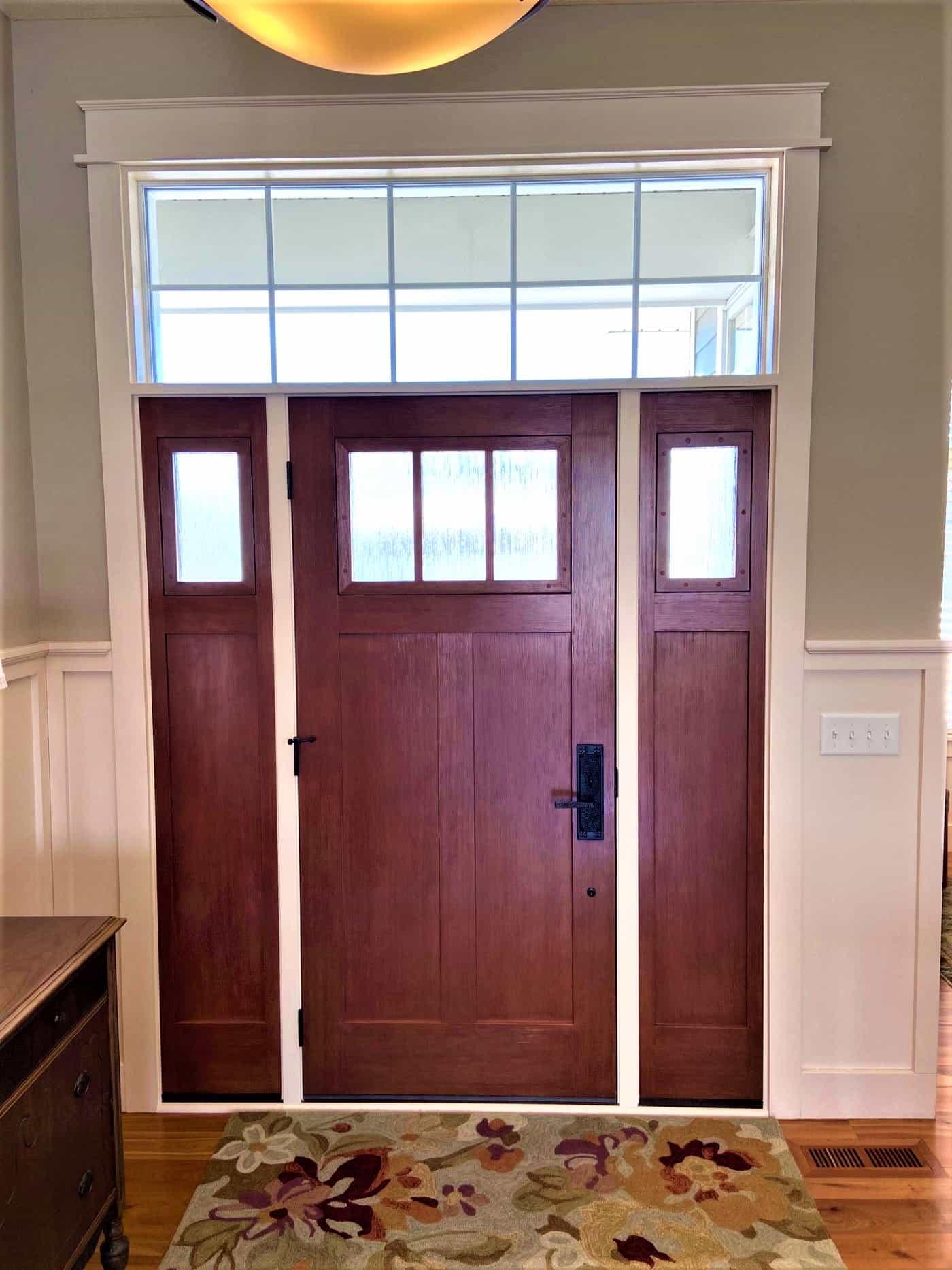provia fiberglass door interior