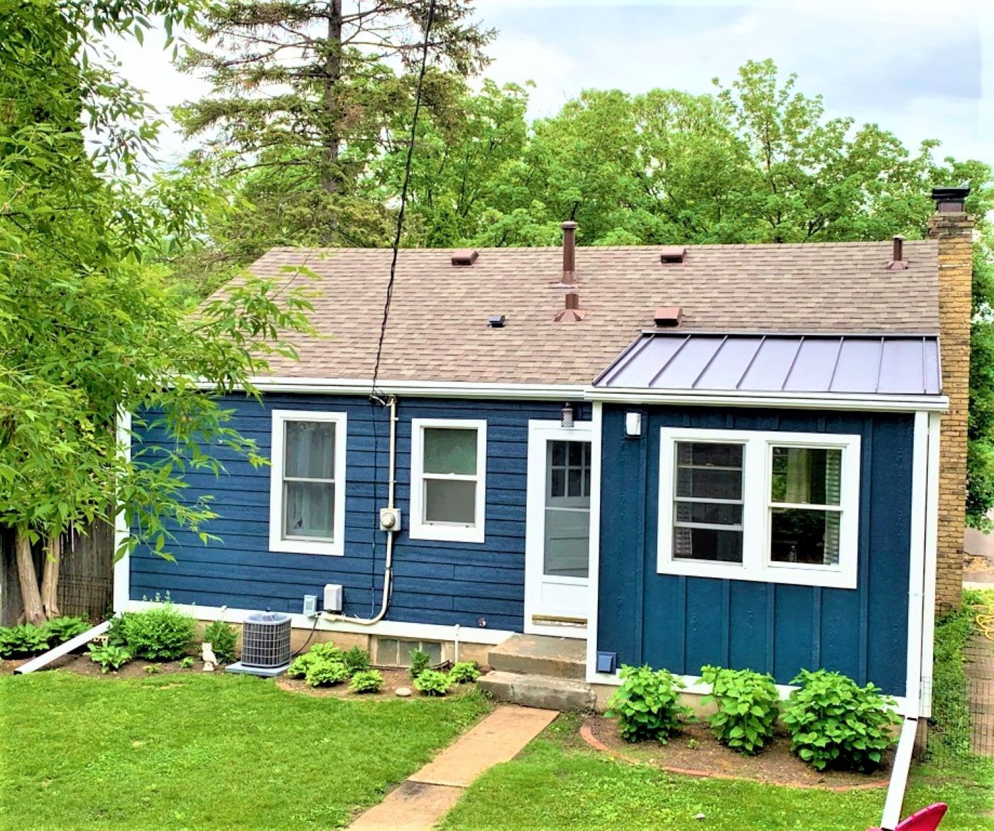 st louis park mn metal roof & LP SmartSide