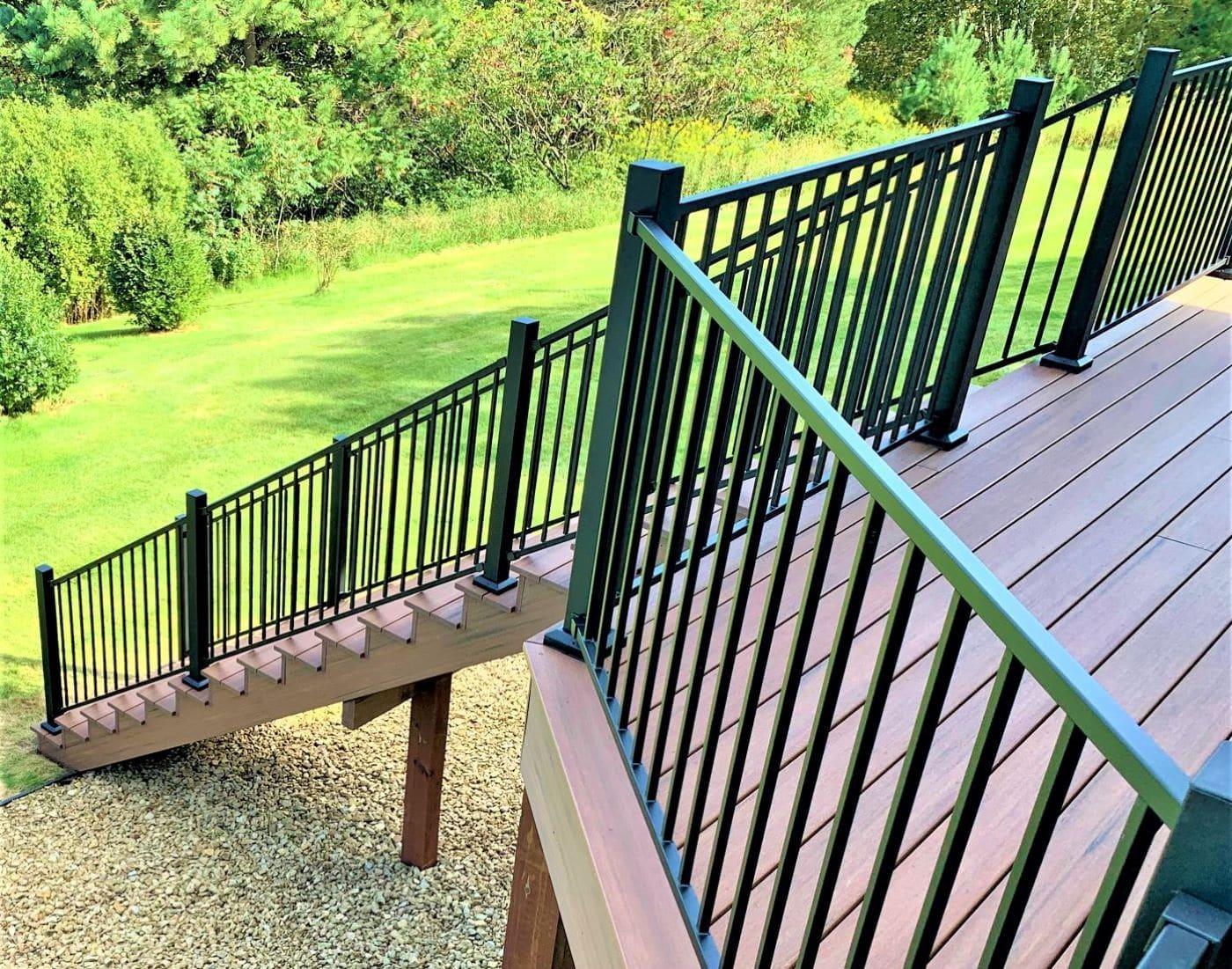 TimberTech AZEK Deck & fortress railing