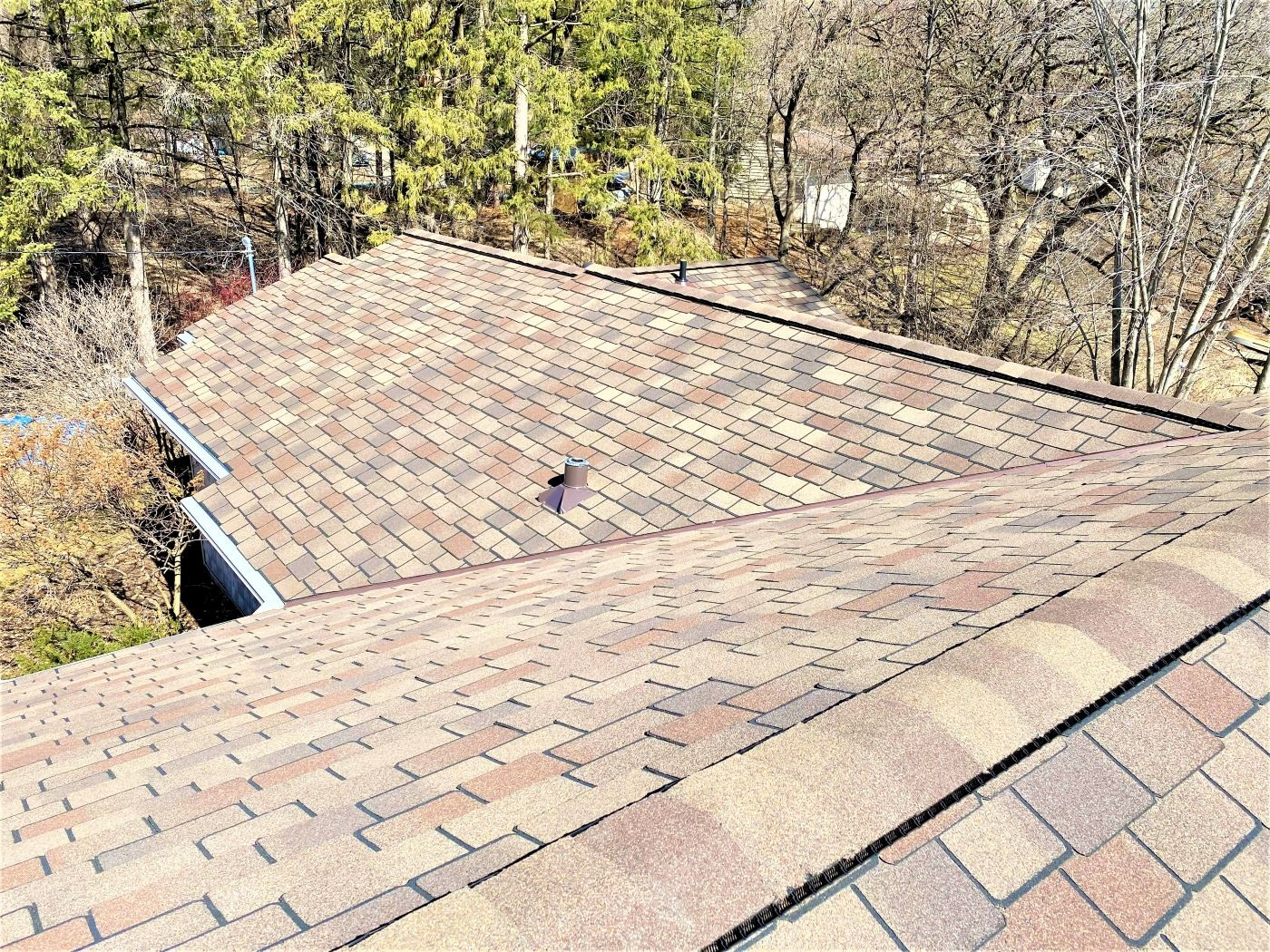 GAF Woodland® shingles in Tuscan Sunset